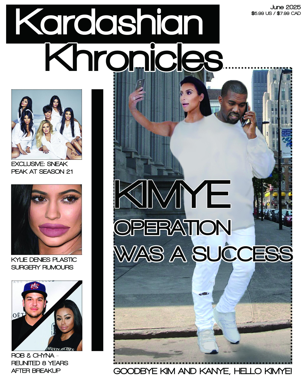 Kardashian tabloid cover