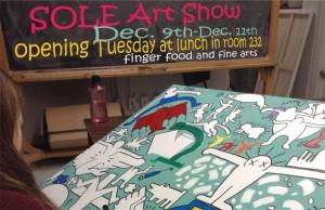 SOLE art show