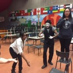 mime working with students